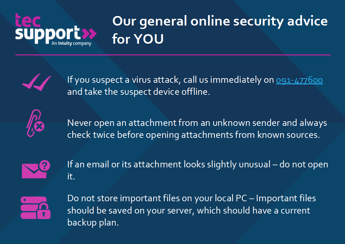Online Security Advice